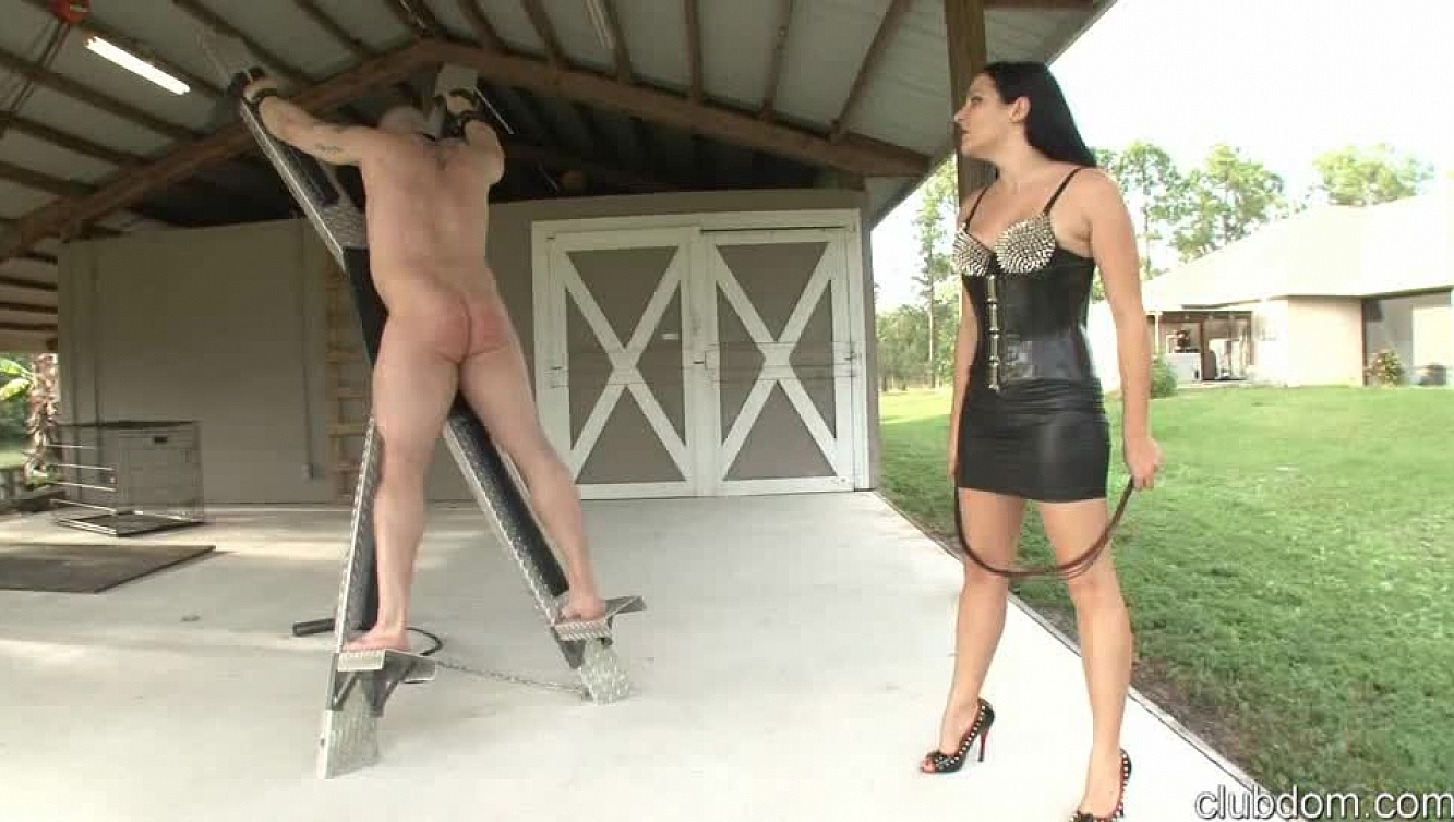 Cruel whipping