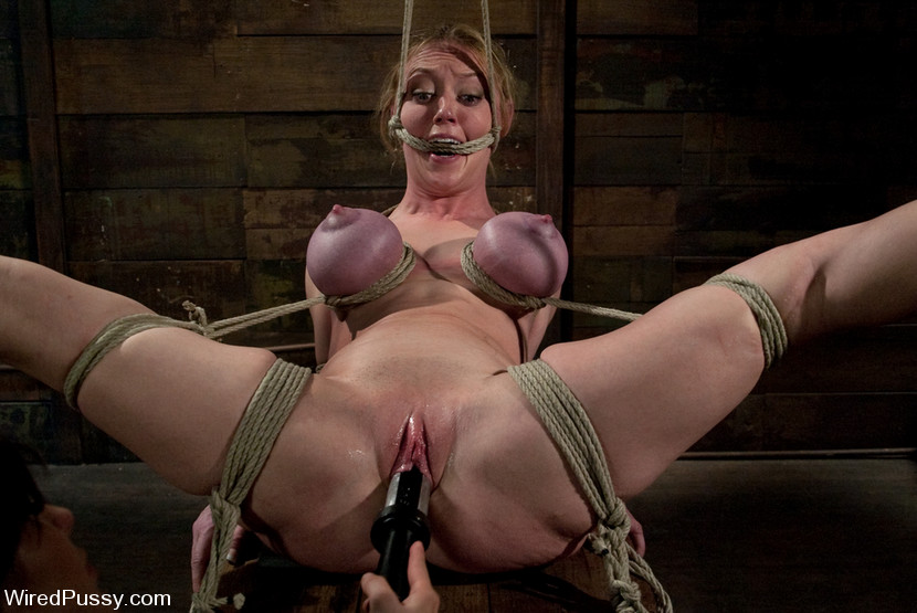 big tits pornstar bondage
